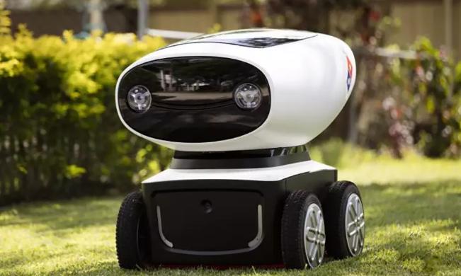 达美乐 DRU全球首个披萨外卖机器人