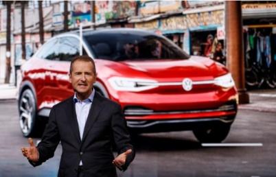 大众迎历史性时刻:迪斯出任集团CEO,将直接负责汽车互联业务