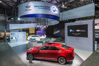 凯迪拉克的CES朋友圈,中国移动4G点赞,百度CarLife刷屏