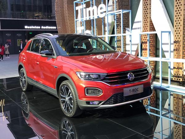 一汽大众首款SUV「探歌」正式发布,新狼堡选