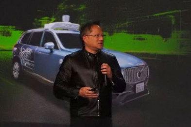 英伟达CEO:自动驾驶汽车将于2020年上路
