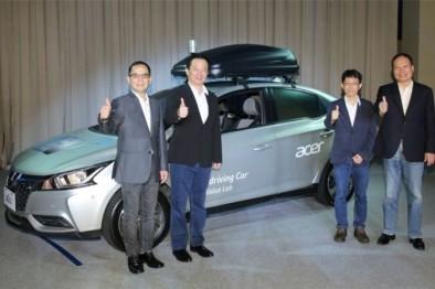 宏碁、裕隆汽車合作,聯合推出4級自動駕駛概念車