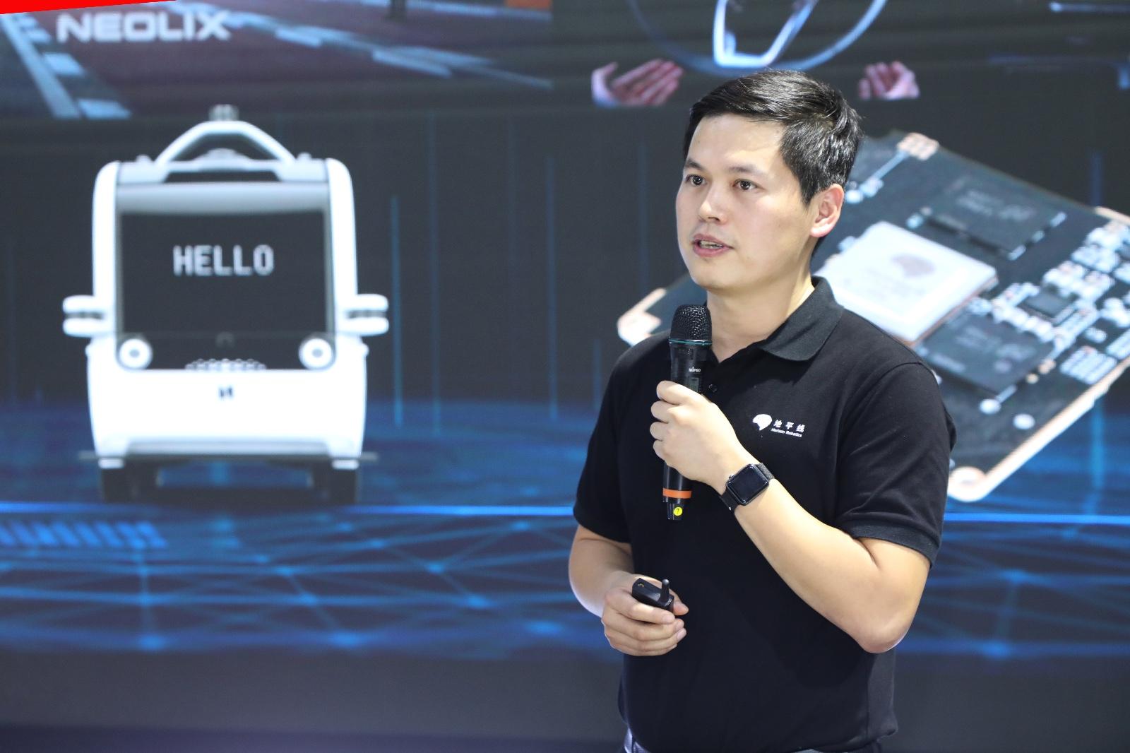 地平线副总裁兼智能驾驶产品线总经理张玉峰