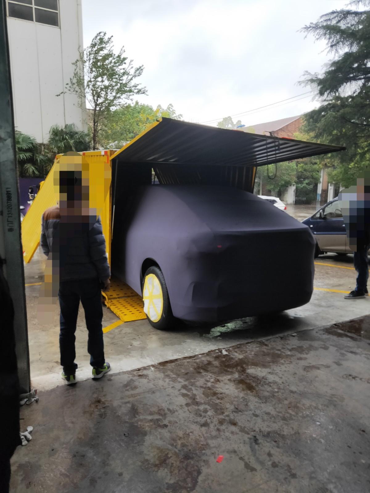蔚来最新运动型SUV谍照