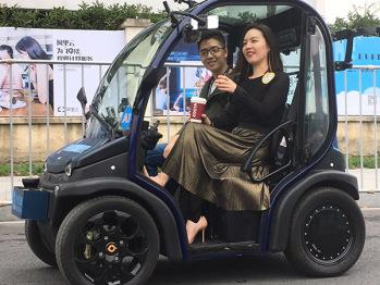 中国首辆量产自动驾驶电动车上路,搭载千寻位置服务