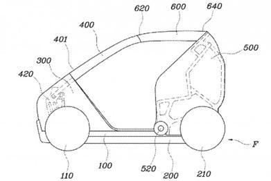 现代新专利:车身折叠才是找车位的强姿势