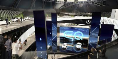 奔驰法兰克福车展将推全新EQ紧凑纯电概念车