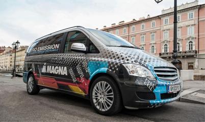 麦格纳推出燃料电池增程式电动概念车