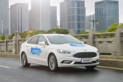 人、车、路三方互联,福特首次在中国开放道路测试C-V2X