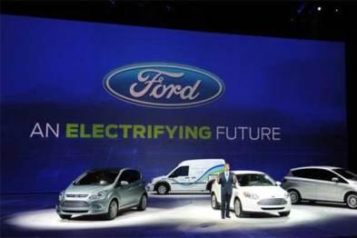 福特2020年之前向电动汽车投资110亿美元