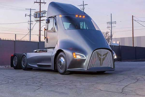 挑战特斯拉?洛杉矶初创公司Thor Trucks发布电动卡车