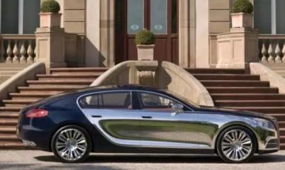 布加迪拟推出电动豪华轿车