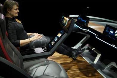 博世展出新款概念车及物联网技术