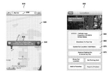 苹果欲申请新专利,让Siri告诉你车停在哪