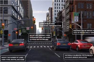 蔚来的这款自动驾驶测试软件,一分钟内自动生成城市街区