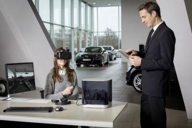虚拟现实探入汽车零售