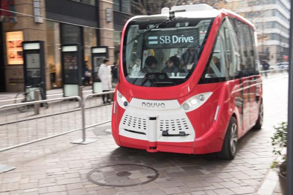 Navya自动驾驶巴士