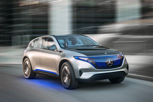 奔驰纯电动SUV概念车「Generation EQ」
