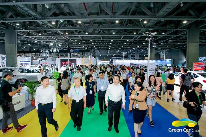 2018中国(广州)国际新能源、节能及智能汽车展览会现场