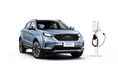 福特发布在中国市场的第一款纯电动车型