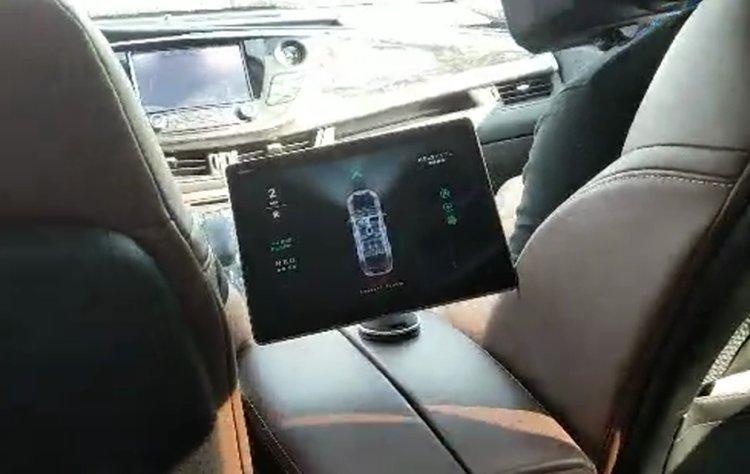 车内代客泊车系统展示