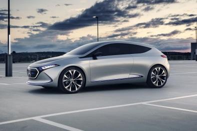 预量产版奔驰EQ电动汽车将亮相2018日内瓦车展