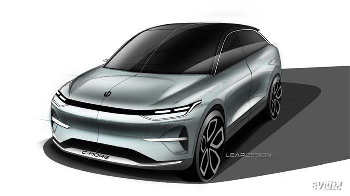 零跑汽车首款跨界suv概念车设计图发布