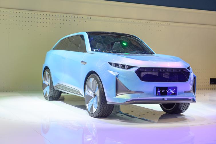 """全新WEY-X概念车尽显""""明日科技""""魅力"""