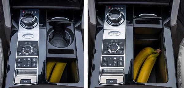 路虎全新一代发现车内储物空间