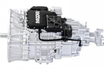 帕卡展出集成动力总成及12速自动变速箱