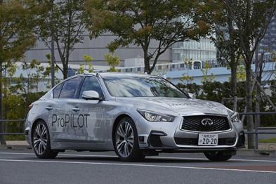 日产全自动汽车近日宣布在日本上路测试