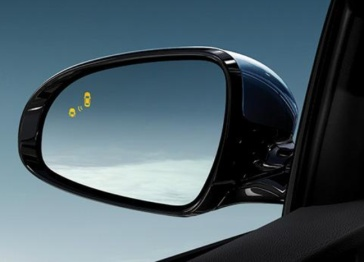 特斯拉新增盲点警告声以及自动折叠侧视镜功能