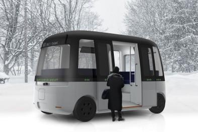 MUJI攜手芬蘭Sensible4公司開發全球首款L4級全天候自動駕駛巴士