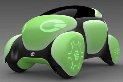 日企将展示可反弹行人Flesby II橡胶概念车