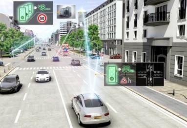 大陆又给eHorizon升了级,这回增加的是交通灯预测系统