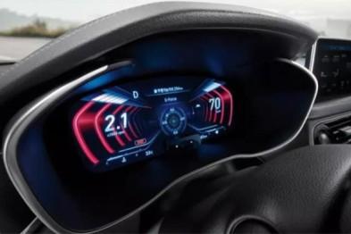 2019款捷恩斯G70搭载全球首款3D仪表板显示屏