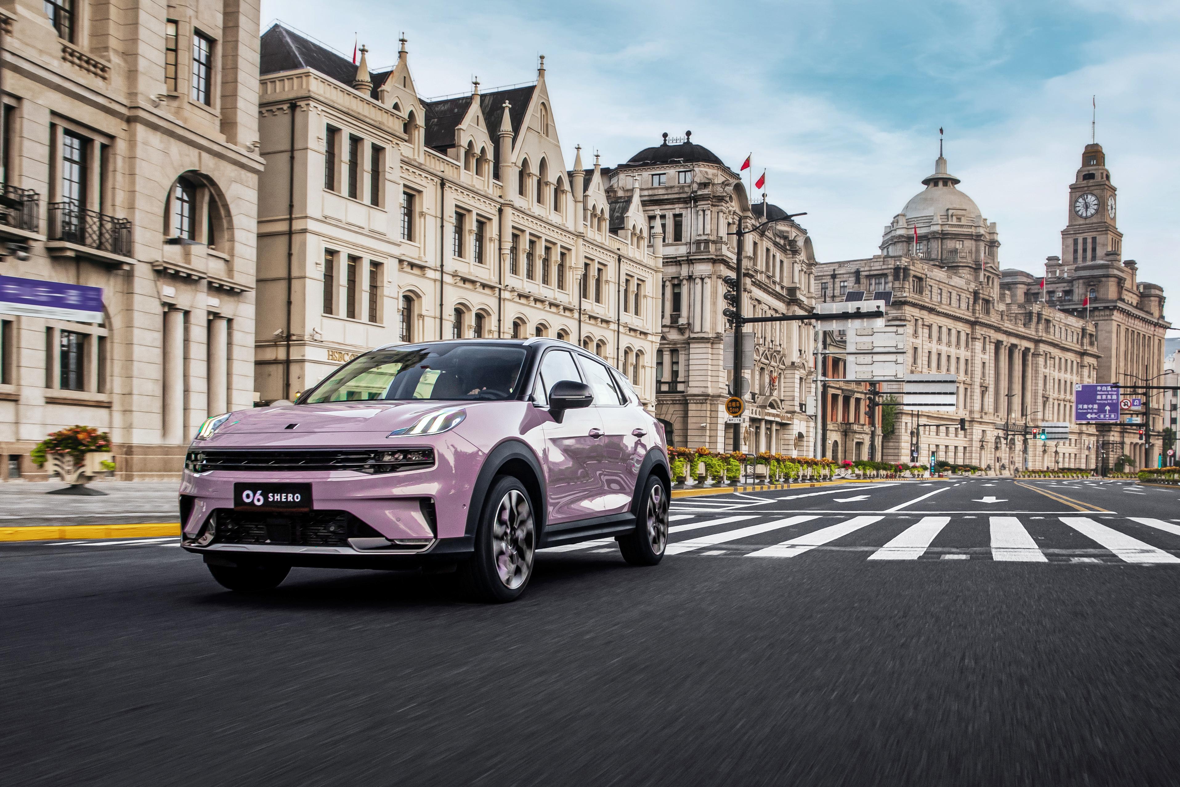 领克06粉色版上市,女性力量成为下一个汽车消费市场蓝海?