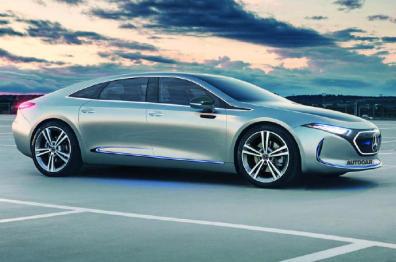奔驰预计将在2022年推出EQE车型