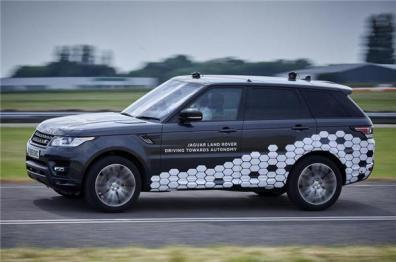 路虎揽胜运动版搭载4级自动驾驶技术上路测试