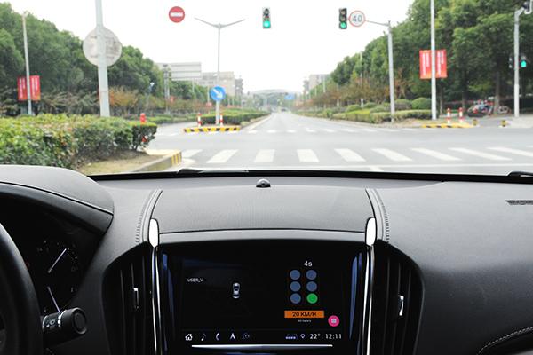 通用汽车成功在公共道路上演示车辆与基础设施通信应用
