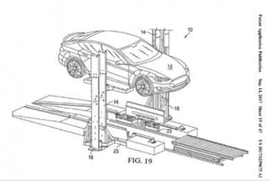 特斯拉新专利解决电动车充电硬伤:15分钟可换电池