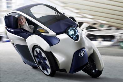 """新萌宠来袭!看看丰田i-Road这个""""最后一公里""""的电动三轮"""