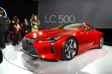 首次搭载10速变速箱,雷克萨斯LC 500北美车展发布