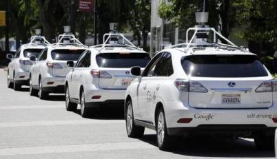 谷歌无人驾驶汽车被撞,相撞车辆司机受伤