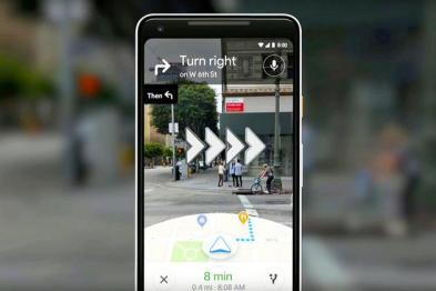 谷歌地圖向少量用戶推AR實景導航
