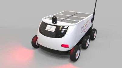 京东投百亿,长沙试点制造无人快递车