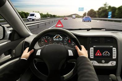 博世:警告!前方有车逆行!