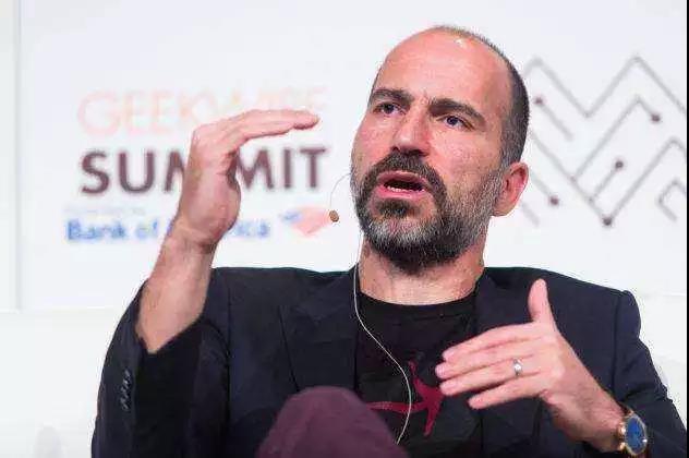 图:Uber的CEO达拉·科斯罗萨西