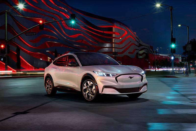 Mustang Mach-E EPA续航公布,福特全球纯电的第一步