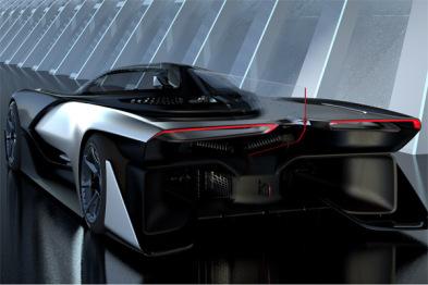 「法拉第Zero 1」≈「乐视超级汽车Mule Car」